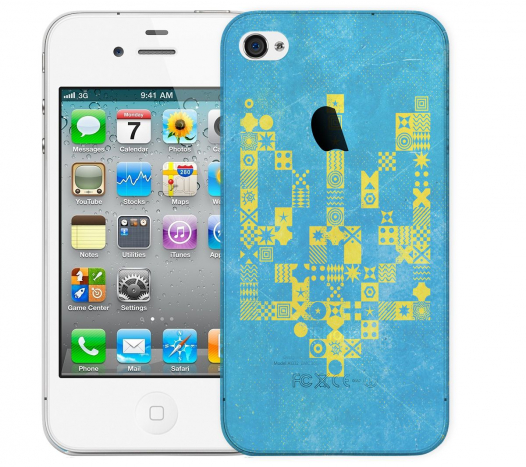 Чехол «Герб v2» для Apple iPhone 4/4s