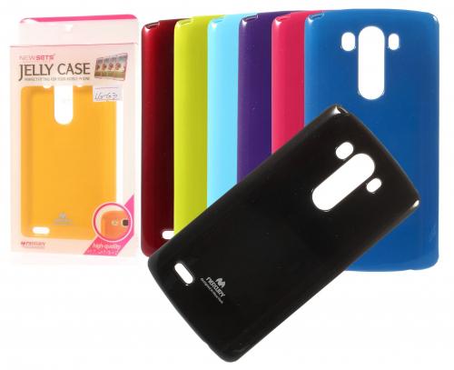 TPU чехол Mercury Jelly Color series для LG D855/D850/D856 Dual G3
