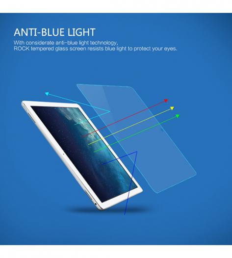 Защитное стекло ROCK Premium Tempered (2.5D) 0.3mm (Anti-Blue Light) для Apple iPad Pro 9,7