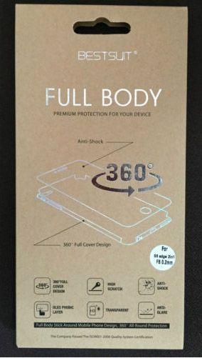 Бронированная полиуретановая пленка BestSuit (на обе стороны) для Samsung G925F Galaxy S6 Edge