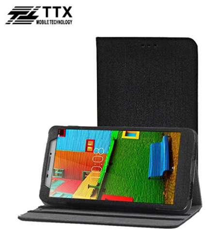 Кожаный чехол-книжка TTX с функцией подставки для Lenovo Phab PB1-750