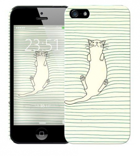 Чехол «Cat» для Apple iPhone 5/5s