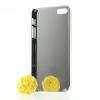 Пластиковая накладка с алюминиевой вставкой для Apple iPhone 5/5S/SE