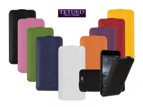 Кожаный чехол (флип) TETDED для HTC One / A9