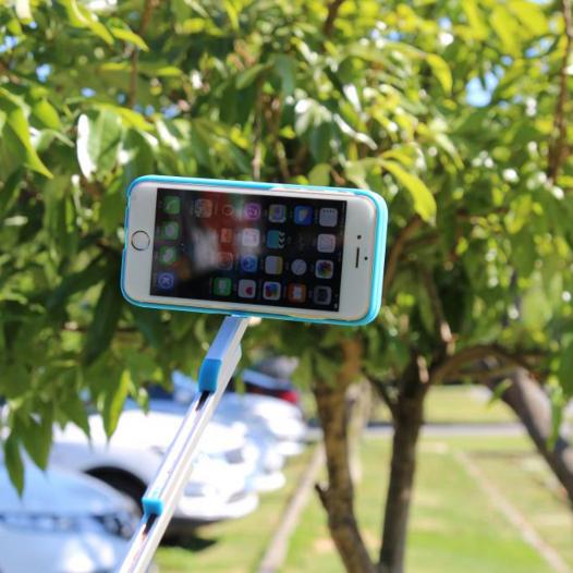 2 в 1! Чехол и селфи-палка для Apple iPhone 6/6s plus (5.5