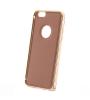 """Металлический бампер с кожаной вставкой для Apple iPhone 6/6s (4.7"""")"""