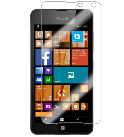 Защитное стекло Ultra Tempered Glass 0.33mm (H+) для Microsoft Lumia 650 (картонная упаковка)