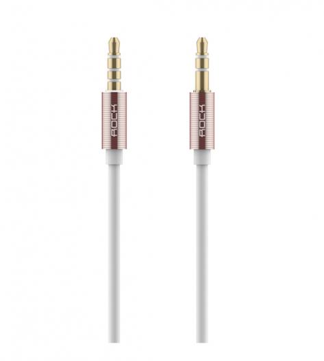 Аудио кабель Rock Aux (3,5 - 3,5 / Jack-Jack) (1м)
