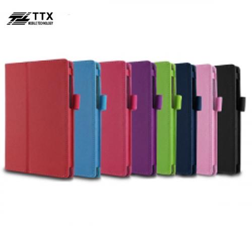 Кожаный чехол-книжка TTX с функцией подставки для Asus ZenPad 7.0 (Z370C/ Z370CG)
