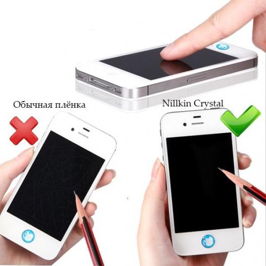 Защитная пленка Nillkin Crystal для Apple IPAD Air/  iPad Air 2 / iPad Pro 9,7