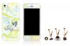 Пластиковая накладка ROCK Mr.ROCK Series 2 для Apple iPhone 5/5S