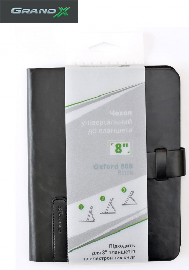Универсальный чехол Grand-X Oxford 808 для планшета 8