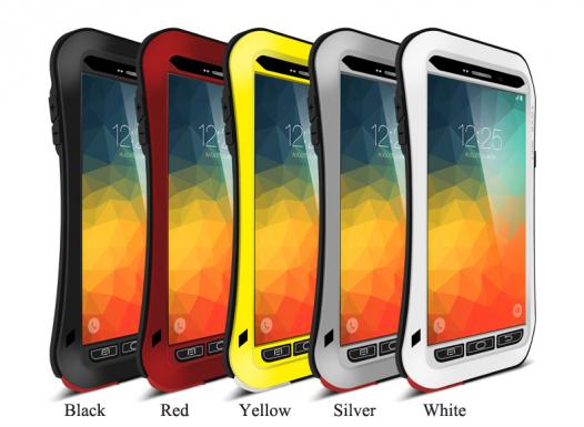 Бронированный противоударный алюминиевый чехол Love Mei PowerFull для Samsung Galaxy Note 5 N9200