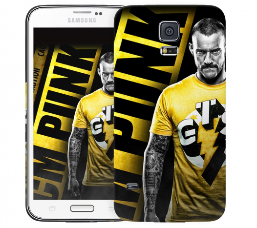 Чехол «Cm Punk» для Samsung Galaxy S5