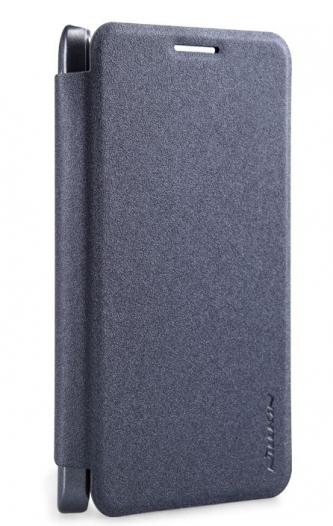 Кожаный чехол (книжка) Nillkin Sparkle Series для Samsung A300H / A300F Galaxy A3