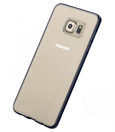 TPU+PC чехол Rock Pure Series для Samsung Galaxy S6 Edge Plus