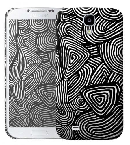 Чехол «Black&white» для Samsung Galaxy s4 / Galaxy S4 mini