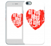 """Чехол """"All You Need Is Love"""" для Apple iPhone"""