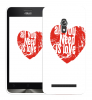 "Чехол ""All You Need is Love"" для Asus Zenfone"