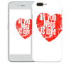 """Чехол """"All You Need Is Love"""" для Apple iPhone 7"""