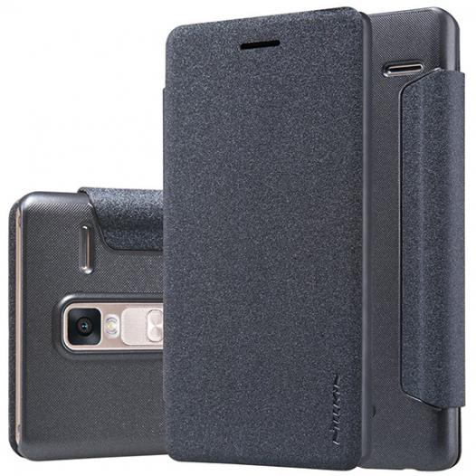 Кожаный чехол (книжка) Nillkin Sparkle Series для LG H650E Zero / Class