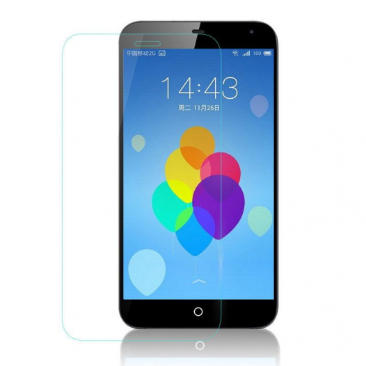 Защитное стекло Ultra Tempered Glass 0.33mm (H+) для Meizu M1 Note (картонная упаковка)