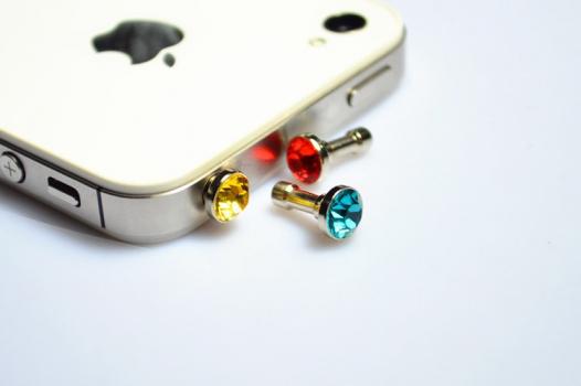 Заглушка 3,5мм  для аудиопорта Diamond