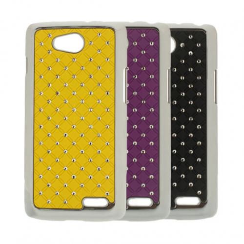 Хромированная накладка со стразами для LG D410 L90 Dual/LG D405 L90