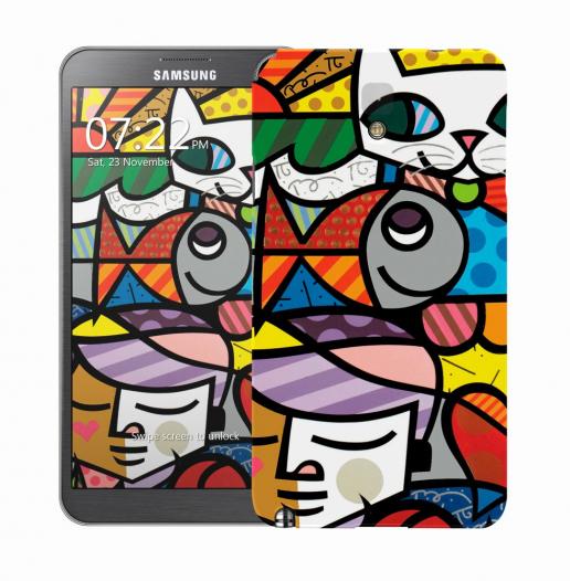 Чехол «Kitty» для Samsung Galaxy Note 3 N9000/N9002