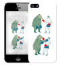Чехол «Bear man» для Apple iPhone 5/5s