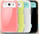 Накладка Zenus Walnutt milk bar Series для Samsung i9300 Galaxy S3 (+защитная пленка в подарок!)