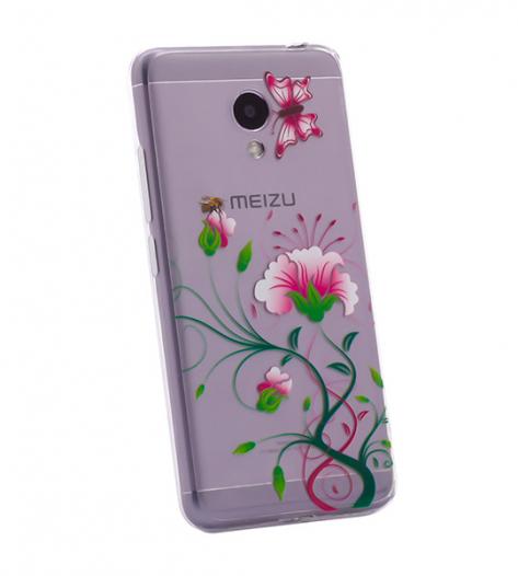 TPU чехол Cute Print для Meizu M3 / M3 mini / M3s