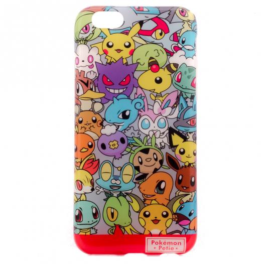 TPU чехол Color Pokemons для Apple iPhone 6/6s (4.7