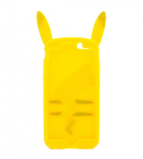 Фактурный силиконовый 3D чехол Pickachu Full Cover Series для Apple iPhone 6/6s (4.7