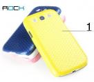 Пластиковая накладка ROCK Jewel Series для Samsung i9300 Galaxy S3 (+ плёнка)
