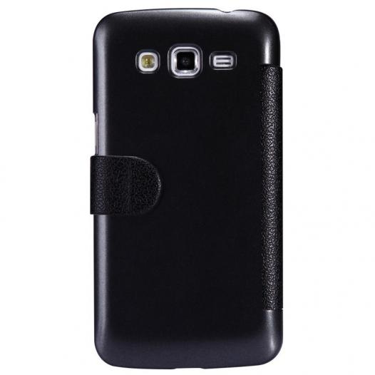 Кожаный чехол (книжка) Nillkin Fresh Series для Samsung G7102 Galaxy Grand 2