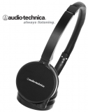 Наушники Audio-Technica ATH-WM55BK (+ сменные амбушюры в комплекте)
