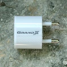 Сетевое ЗУ Grand-X USB 5V 1A (CH-695)