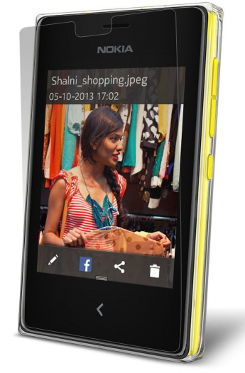 Защитная пленка для Nokia Asha 502 Dual Sim