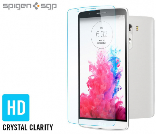 Защитная пленка SGP Crystal CR (2шт на экран) для LG D855/D850/D856 Dual G3