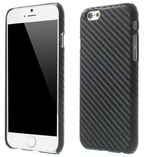 Пластиковая накладка (Carbon) для Apple iPhone 6/6s (4.7