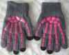 Емкостные перчатки Skeleton Skull