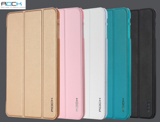 Кожаный чехол (книжка) Rock Uni Series для Apple IPAD mini (RETINA)/Apple IPAD mini 3