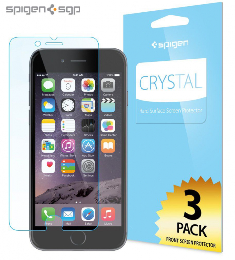 Защитная пленка SGP Crystal CR (3шт на экран) для Apple iPhone 6/6s (4.7