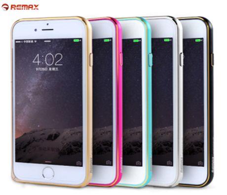 Металлический бампер Remax (защелка) для Apple iPhone 6/6s (4.7