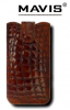 Кожаный футляр Mavis Classic Stones 112x48/119x50 для Nokia X2-02/Samsung S5610