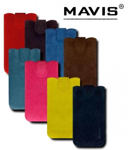 Кожаный футляр Mavis Premium VELOUR 112x48/119x50 для Nokia X2-02/Samsung S5610