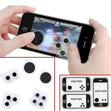Игровые силиконовые кнопки для смартфонов