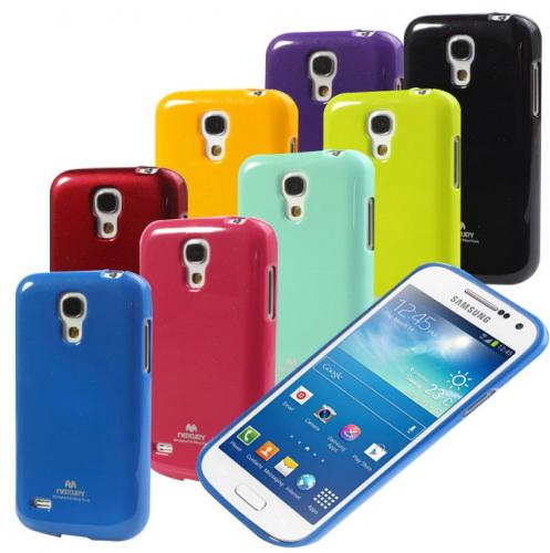 TPU чехол Mercury Jelly Color series для Samsung i9192/i9190/i9195 Galaxy S4 mini