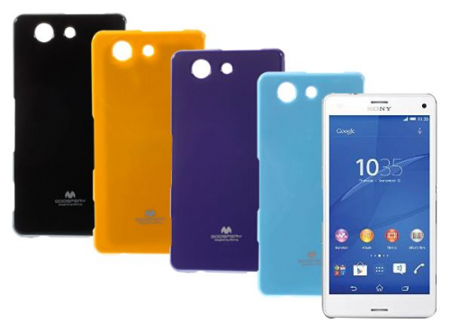 TPU чехол Mercury Jelly Color series для Sony Xperia Z3 Compact